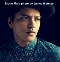 Bruno Mars photo - James Mooney