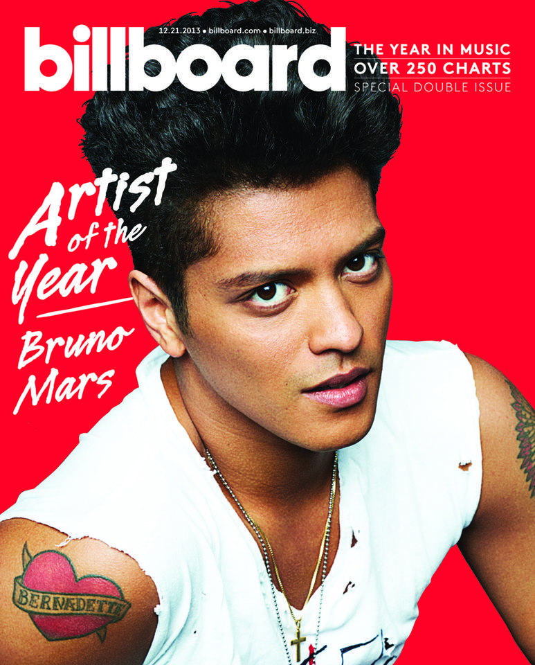 Bruno Mars - Billboard Artist of the Year Cover - 2013 1